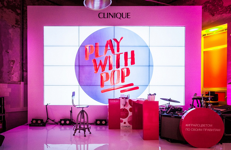 Launch Of The Clinique's New Collection